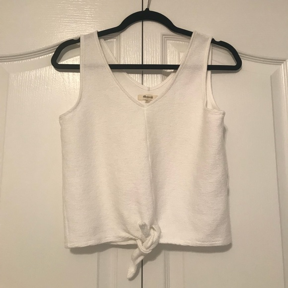 a4058ab43a6 Madewell Tops - Madewell - Texture   Thread Tank - Size SM